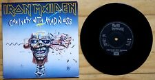 "NM! IRON MAIDEN - CAN I PLAY WITH MADNESS 1988 7"" VINYL 45 (EM 49)"