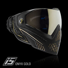Dye i5 Pro ONYX BLACK ORO Thermal Maschera Paintball Airsoft Softair Goggle 1961