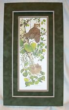 Bev Doolittle WHOO WHOO? Fine Art Print Owl Beaver