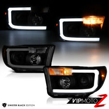 [Cyclp Optic Tube] Toyota Tundra 2007-2013 Sinister Black Projector Headlights