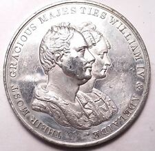 1831 WILLIAM IV AND QUEEN ADELAIDE CORONATION MEDAL..MEDAL TOKEN