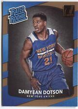 2017/18 Donruss Basketball DAMYEAN DOTSON RATED ROOKIE Card #166 - NY KNICKS -