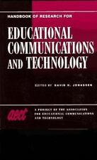 Handbook of Research on Educational Communications and Technology: A Project of