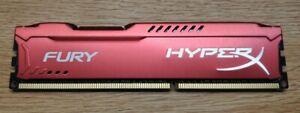 Kingston HX316C10FR/4  4GB 1600MHZ DDR3 HYPERX FURY RED SERIES