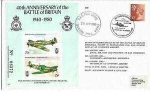 GB 1980 Hurricane Btl Britain Mem.Flt Flwn 40th Anniv Battle of Britain.RAF Bigg