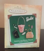 Hallmark BARBIE ADDING THE RIGHT TOUCH Accessories - 2004 SET 9 Ornaments - NEW