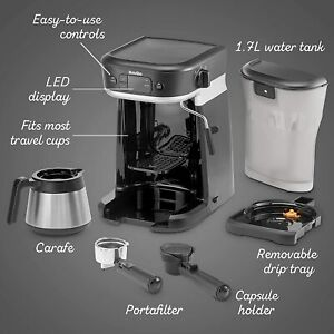 Brew Basket and Lid for Breville All-in-One Coffee House VCF117