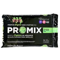Organic Seed Starting Mix, 16 quart Peat Based + Mycorrhizae (OMRI) Germinate ++