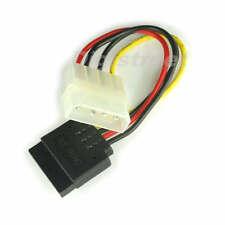 Pure Copper ATX 4Pin Molex Male to 15Pin SATA Female Server IDE HDD Power Cable