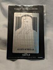 Escaflowne Anime Metal Tarot Bookmark Allen Schezar Japan Import Movic Card