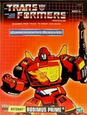 Transformers Rodimus Prime Commemorative Reissue Factory Seal New GENERATION 1