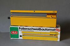 stylisches Melitta Folienschweissgerät FSA3 orange 70er Kultiges Teil
