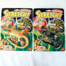 12 INCREDIBLE STRETCH LIZARDS soft squeeze kids toy