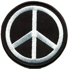 Peace sign hippie retro boho flower power weed love applique iron-on patch S-580