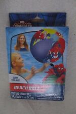 Marvel Spider man Beach Ball Swim time Fun 13.5 in  New