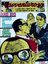 L' Avventuroso n°2 1973 - James Bond disegni di HORAK  [G.235]