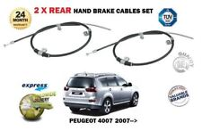 PARA PEUGEOT 4007 2.2 HDi 2.4i SUV 2007- > NUEVO 2x freno de mano trasero Cables