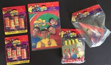 NIP The Wiggles Party Favor Pack - 8 Hats Blowouts Loot Bags & Kaleidoscopes