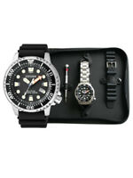 Citizen Promaster Sea Taucheruhr Herrenuhr SET BN0150-10EM Analog  Kautschuk Sch