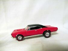 Red '67 Pontiac Gto /Real Riders from '1997 Hot Wheels 67 Muscle Car 3 Car Set