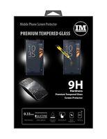 Schutzglas Screen Display Glas Echt Schutz Folie für Sony Xperia XCompact