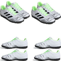 Adidas Mens Copa 20.4 Turf Football Boots Trainers Soccer Sneakers White Black
