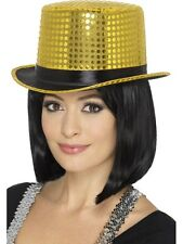 Smiffys 48263 Sequin Top Hat One Size