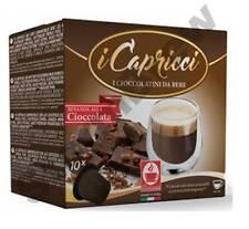 5 CONFEZIONI (50 Pod): compatibile Nespresso Cioccolata Calda BACCELLI Capsule: