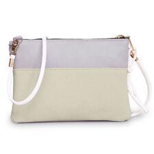 Fashion Women Leather Zipper Handbag Shoulder Bag Large Tote Ladies Purse Bag CA