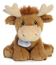 Aurora World Precious Moments Embroidered Toy Monty Moose 8.5""