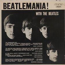 Beatles - Beatlemania! Rare Orig 1963 Capitol Canada 6000 Series Mono Lp (Exc)