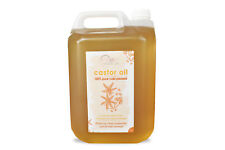 CASTOR OIL - 5 LITRES 100% PURE, COLD PRESSED
