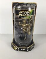 Star Wars Kenner Epic Force Rotating C-3PO Action Figure Sealed (B8)