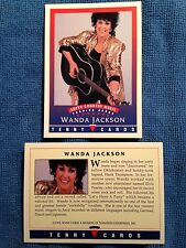 1992 Tenny Cards, Wanda Jackson, NM-MT