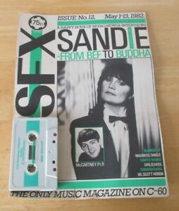 SFX cassette /mag no 12 may 1982, Paul McCartney, sandie shaw,simple minds