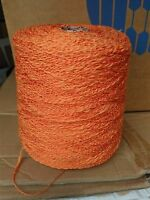fil a tricoter coton- acrylique 1Kg Orange