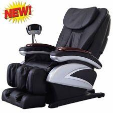 🔥NEW Electric Shiatsu Massage Chair Full Body Recliner Heat Stretched Foot Rest