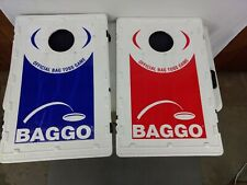 Baggo Bag Toss Official Game System + Caddy Cup Holders, Score Keeper (no bags)