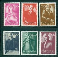 Portugal Scott #1226-1231 MNH Portuguese Musicians CV$4+