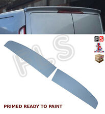 FORD TRANSIT CUSTOM TWIN BARN DOOR REAR ROOF TAILGATE SPOILER OEM FIT STYLE 12+