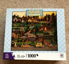 NEW SEALED Charles Wysocki LABOR DAY IN BUNGALOWVILLE 1000 Pc Puzzle
