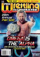 Autographed Kenny Omega PWI 500 Magazine, IWGP NJPW ROH Elite BTE New Japan