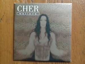 "Vends CD single Cher ""Believe"""