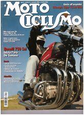 MOTOCICLISMO D'EPOCA 11 2003 - BENELLI 600 750 - MOTOM 48 - DUCATI NCR  - TIGER