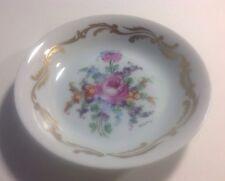 """Vintage Limoges France Porcelaine Dure 4.5"""" Plate Saucer, Signed By Artist"""