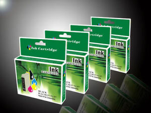 4 Generic Epson 252 252XL 254XL  Ink Cartridge Workforce WF3620 WF3640 Printer