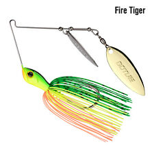 Spinnerbait Fishing Lure Double Willow Blade Buzzbait Lead Head Crankbaits Hooks