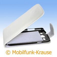 Flip Case Etui Handytasche Tasche Hülle f. Samsung Galaxy S 3 (Weiß)