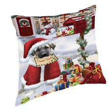 Anatolian Shepherds Dear Santa Letter Christmas Dog Throw Pillow 14x14
