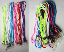 12X VINTAGE 80'S SUNGLASS EYEGLASS NECK CORDS STRAP LACES HOLDER NEON TAIWAN NEW